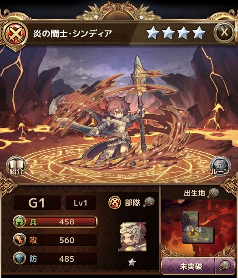 炎の闘士・シンディア